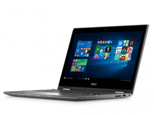 DELL INSPIRON 5368 2IN1 13.3 FHD TOUCH I7-6500U (3.10 GHZ), 8GB, 1TB HDD, Intel® HD, WIN 10 SZÜRKE HU
