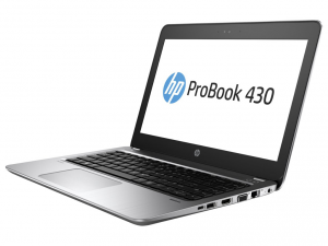 HP ProBook 430 G4, 13.3 HD matt, Intel® Core™ i7-7500U Processzor, 8GB DDR4, 256GB M.2 SSD, Intel® HD Graphics 620, ezüst, DOS