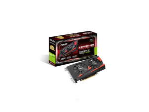 Asus PCIe NVIDIA GTX 1050 Ti 4GB GDDR5 - EX-GTX1050TI-4G