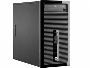 HP PRODESK 400 MT G3 - X3K56EA - Core™ I3-6100 3.7GHZ, 4GB, 500GB, WIN 10 PROF.