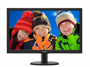 Philips 23,6 243V5QHSBA/00 - MVA LED - Monitor