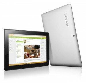 Lenovo IdeaPad 10,1 HD LED Miix 310 - 80SG006UHV - Ezüst - Windows® 10 Home Intel® Atom™ Quad Core™ x5-Z8350 /1,44GHz - 1,92GHz/, 4GB 1600MHz, eMMC 64GB, Intel® HD Graphics, WiFi, Bluetooth, Webkamera, Windows® 10 Home, Fényes Kijelző
