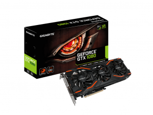 Gigabyte PCIe NVIDIA GTX 1080 8GB GDDR5X - GeForce GTX 1080 Windforce OC 8G