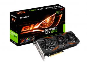 Gigabyte PCIe NVIDIA GTX 1080 8GB GDDR5X - GeForce GTX 1080 G1 Gaming