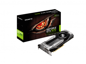 Gigabyte PCIe NVIDIA GTX 1070 8GB GDDR5 - GeForce GTX 1070 FOUNDERS EDITION