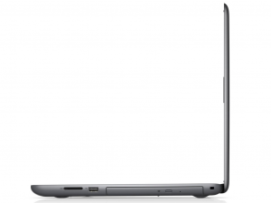 DELL Inspiron 5567 15.6 HD TrueLife, Intel® Core™ i7 Processzor 7500U (2.7-3.5GHz), 8GB DDR4, 1TB HDD, AMD R7 M445 / 4GB GDDR5, DVD, 10/100 LAN, HDMI v1.4a, 2db USB 3.0, 1db USB 2.0, 802.11ac WiFi, BT4.2, 3cell, backlit keyboard, Szürke, Linux (228911)