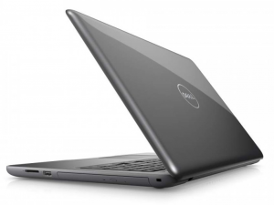 DELL Inspiron 5567 15.6 FHD matt, Intel® Core™ i7 Processzor 7500U (2.7-3.5GHz), 8GB DDR4, 1TB HDD, AMD R7 M445 / 4GB GDDR5, DVD, 10/100 LAN, HDMI v1.4a, 2db USB 3.0, 1db USB 2.0, 802.11ac WiFi, BT4.2, 3cell, backlit keyboard, Szürke, Linux DI5567A4-7500-8GH1TDF3FG-11