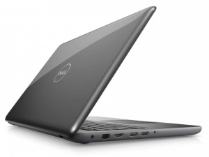 DELL Inspiron 5567 15.6 HD TrueLife, Intel® Core™ i5 Processzor 7200U (2.5-3.1GHz), 4GB DDR4, 500GB HDD, AMD R7 M445 / 2GB GDDR5, DVD, 10/100 LAN, HDMI v1.4a, 2db USB 3.0, 1db USB 2.0, 802.11ac WiFi, BT4.2, 3cell, backlit keyboard, Szürke, Linux DI5567A2-7200-4GH50D3F