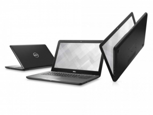 DELL Inspiron 5567 15.6 HD TrueLife, Intel® Core™ i5 Processzor 7200U (2.5-3.1GHz), 4GB DDR4, 500GB HDD, AMD R7 M445 / 2GB GDDR5, DVD, 10/100 LAN, HDMI v1.4a, 2db USB 3.0, 1db USB 2.0, 802.11ac WiFi, BT4.2, 3cell, backlit keyboard, Fekete, Linux (DI5567A2-7200-4GH50D3