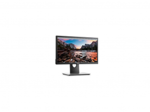 DELL LCD LED MONITOR 19.5 P2017H 1600X900, 1000:1, 250CD, 8MS, HDMI, VGA, DISPLAY PORT, USB, FEKETE