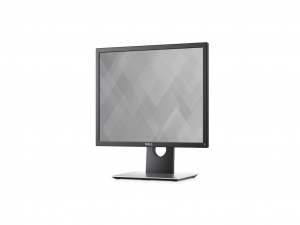 DELL LCD MONITOR 19 P1917S, 5:4, 1280X1024, 1000:1, 250CD, 8MS, DVI-D, DP, VGA, 4XUSB, FEKETE