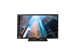 SAMSUNG PLS PANEL FHD LED B2B MONITOR 24 LS24E65UDW/EN, 16:10, PLS PANEL, SE650, 1920X1200, MEGA DCR/1000:1 CR