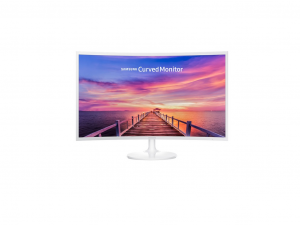 SAMSUNG ÍVELT VA LED MONITOR 31,5 C32F391FWU,1920X1080,16:9, MEGA DCR 3000:1 CR, 250CD/M2, 4MS, DP/HDMI, Fehér