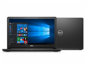 DELL NB VOSTRO 3568 15.6 FHD, Intel® Core™ i5 Processzor-7200U (2,50GHZ), 8GB, 256GB SSD, DVD-RW, WIN 10 HOME fekete (249502)