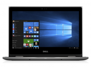 DELL INSPIRON 5378 2IN1 13.3 FHD TOUCH I3-7100U (2.40 GHZ), 4GB, 256GB SSD, Intel® HD, WIN 10 SZÜRKE