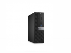 Dell Optiplex 3046SF számítógép, i3-6100 3.7GHz, 4GB DDR4, 128GB SSD Linux
