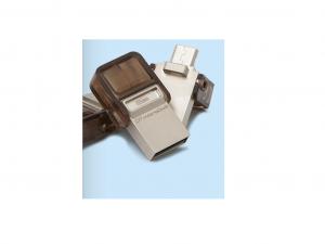 KINGSTON PENDRIVE 64GB, DT MICRODUO USB 2.0 MICRO USB OTG