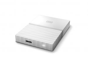 2,5 WD My Passport 1TB NEW! - White - WDBYNN0010BWT-WESN