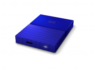2,5 WD My Passport 3TB NEW! - Blue - WDBYFT0030BBL-WESN
