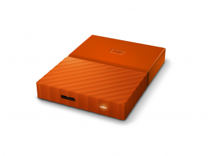 2,5 WD My Passport 3TB NEW! - Orange - WDBYFT0030BOR-WESN