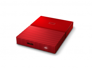 2,5 WD My Passport 3TB NEW! - Red - WDBYFT0030BRD-WESN