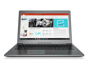 LENOVO IDEAPAD 510-15IKB, 15.6 FHD IPS AG, Intel® Core™ i5 Processzor-7200U, 2X4GB, 1TB HDD, NV GF 940MX-4GB, W10, GUN METAL