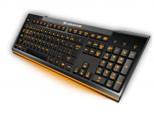 Cougar 200K Gaming HU - Fekete