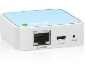 TP-LINK TL-WR802N Hordozható Router