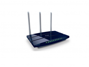 TP-LINK Wireless N Router TL-WR1043ND 3x3MIMO FIX Antennával