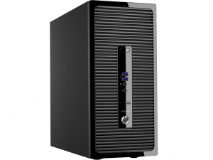 HP 280 G2 MT Core™ I3-6100 3.7GHZ, 4GB, 500GB, WIN 10 PROF. - Asztali PC