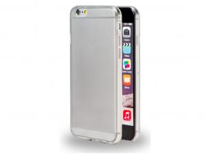 AZURI Puha tapintású ultra vékony tok - átlátszó - Apple Iphone 6-6S