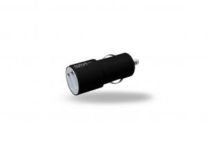 AZURI 12V USB fej - USB kábel nélkül - 2 USB PORT - 3.4A - Fekete