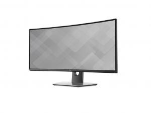 DELL LCD MONITOR 34 U3417W 3440X1440, - Fekete