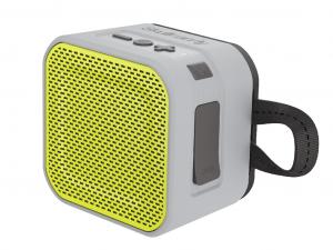 Skullcandy BARRICADE MINI Szürke/Lime - S7PBW-J583 - Bluetooth hordozható hangszóró