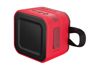 Skullcandy BARRICADE MINI Piros/Fekete - S7PBW-J584 - Bluetooth hordozható hangszóró