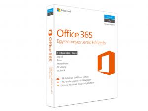 MS Office 365 Egyszemélyes verzió Előfizetés