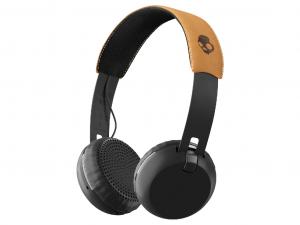 Skullcandy Grind Bluetooth Black/Black/Tan - S5GBWJ-543 - Bluetooth vezeték nélküli fejhallgató