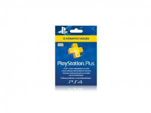 Sony PlayStation Plus 365 napos (12 hónapos) feltöltőkártya
