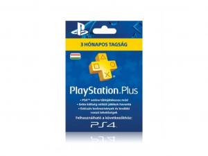 Sony PlayStation Plus 90 napos (3 hónapos) feltöltőkártya