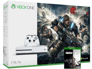 Microsoft Xbox One Slim konzol Special Edition, 1 TB, Gears of War 4 + Rainbow Six Siege Xbox One játék
