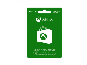 Microsoft Xbox Live Card 2990 HUF - Feltöltőkártya