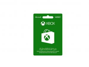 Microsoft Xbox Live Card 14990 HUF - Feltöltőkártya