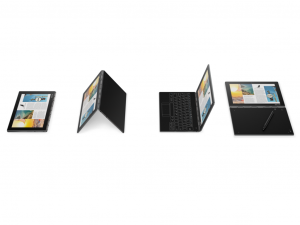 LENOVO YOGA BOOK YB1-X90L, 10.1 FHD IPS, Intel® Atom™ Processzor X5- Z8500 QUADCORE, 4GB RAM, 64GB ROM, 4G LTE, ANDROID 6.0, Szürke
