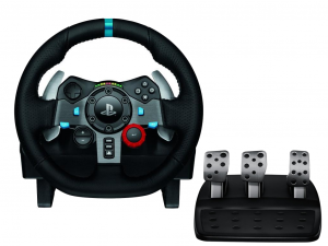 Logitech G29 Driving Force Racing Wheel - Kormány - PC / PS3 / PS4