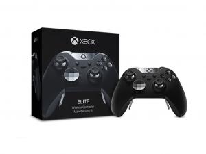MS Játékvezérlő Xbox One Vezeték nélküli Elite controller Fekete
