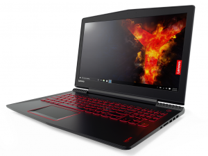 Lenovo Ideapad Legion Y520 15,6 FHD IPS - 80WY0022HV - Fekete Intel® Core™ i5-7300HQ /2,50GHz - 3,50GHz/, 4GB 2400MHz, 1TB HDD, AMD® Radeon™ RX 560M 4GB, Wifi, Bluetooth, Webkamera, Háttérvilágítású billentyűzet, FreeDOS, Matt kijelző