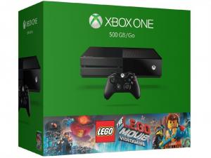 Microsoft Xbox One 500GB Konzol + Lego Movie játékszoftver