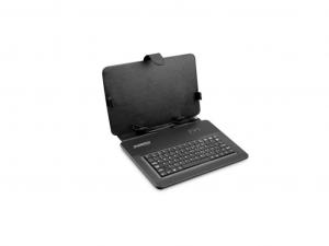 Overmax 7-colos tablet tok billentyűzettel - Fekete