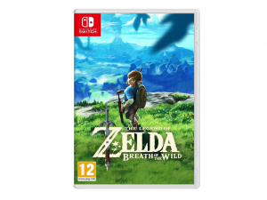 Nintendo Switch : The Legend of Zelda: Breath of the Wild - Játékszoftver