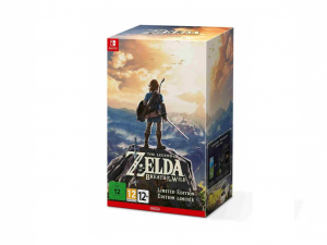 Nintendo Switch - The Legend of Zelda: BOTW Limited edition - Játékszoftver